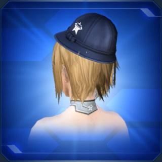 紺色通学帽 Blue School Commute Cap