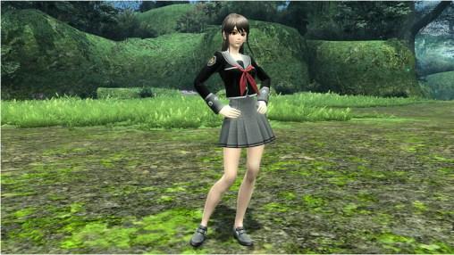 郷愁学生女制服 Nostalgic Student Uniform F