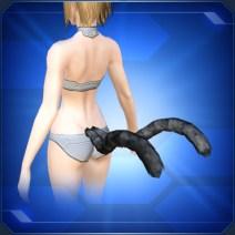 ネコマタのしっぽ 黒 Black Nekomata Tails
