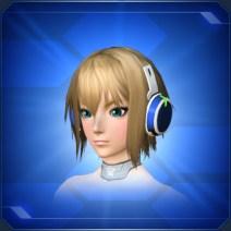 ミコルヘッドフォン 青 Blue Micol Headphones