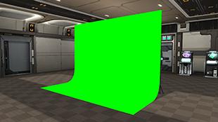 グリーン撮影ブース Green Filming Booth