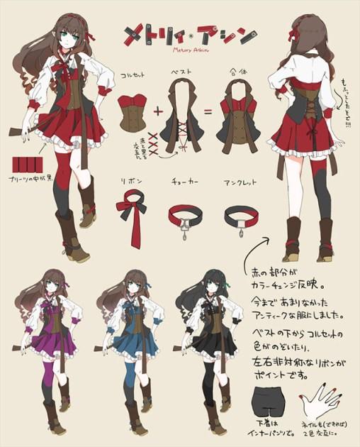 Second Place~ Metory Ashin ~ (aka: Metry Assym)(Female Costume)Artist: 歩鈴