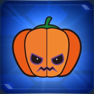 パンプキンステッカー Pumpkin Sticker