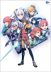 PSO 15th Anniversary Illustration