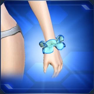 ブルーシュシュ Blue Scrunchie