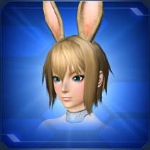 立ちうさ耳 Standing Bunny Ears