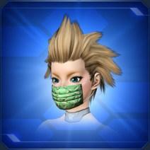 迷彩柄マスク 緑 Green Camouflage Mask