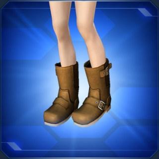 カジュアルブーツ 茶 Brown Casual Boots