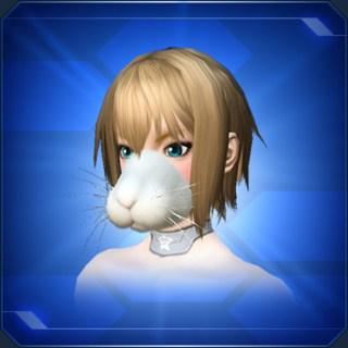 ラビットノーズ 白 White Bunny Nose