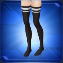 チャームサイハイソックス Charm Thigh High Socks