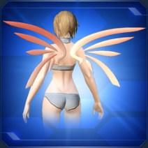 グラデーションウィング 橙 Orange Gradation Wings