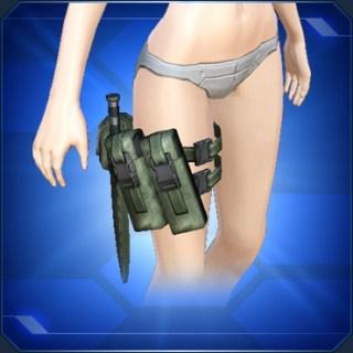 レッグアーミーベルト緑 Green Leg Army Belt