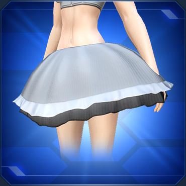 ふんわりスカート 黒 Fluffy Skirt Black