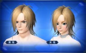 ツートンロングヘアー Two-Tone Long Hair