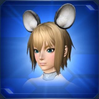 ネズミの耳 灰Mouse Ears Gray