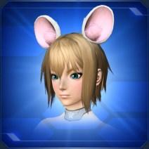ネズミの耳 白Mouse Ears White