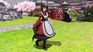 Gothic Maid Kimono img