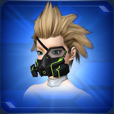 ハーフアームドマスク 緑Half Armed Mask Green