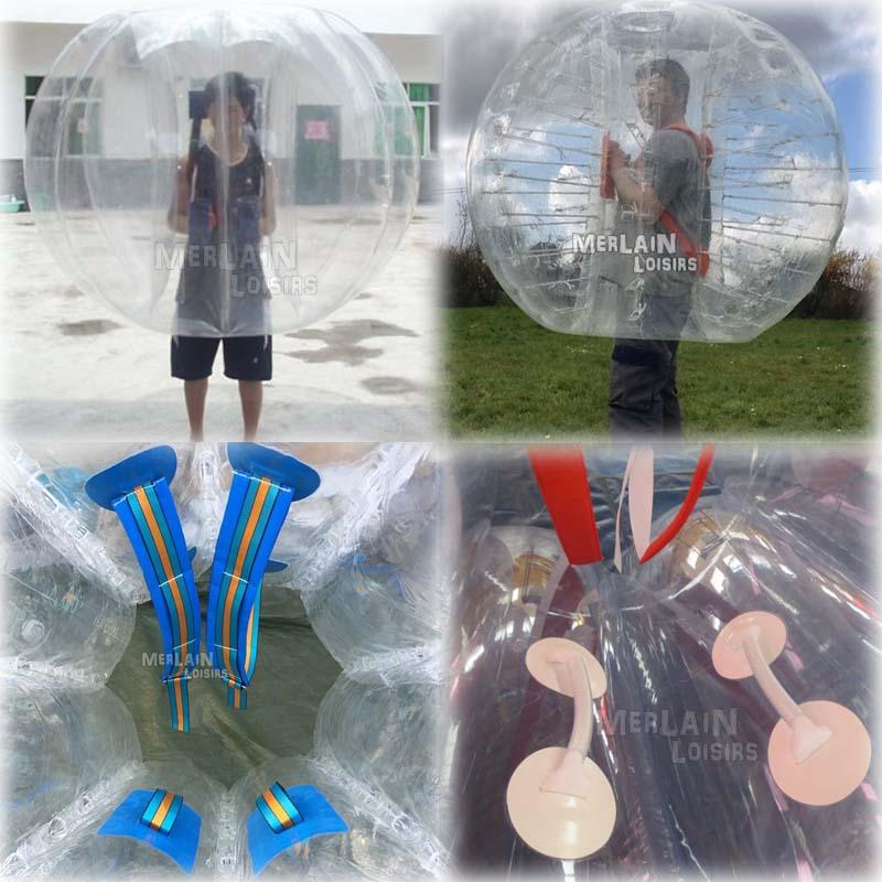 différente bumper ball bubbles génération
