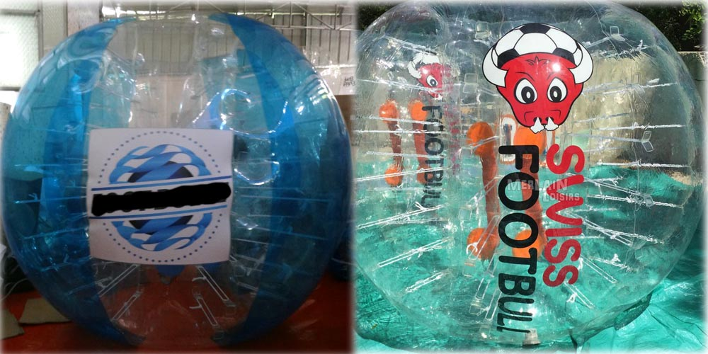 logo colle vs logo imprime bumpeball