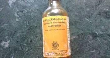 Ayurvedic massage oil for baby