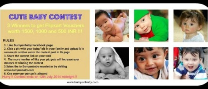 cute baby contest Bumps n Baby