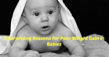 poor weight gain in babies
