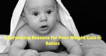 poor weight gain in babies