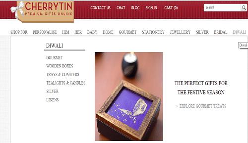 diwali gifts from cherrytin