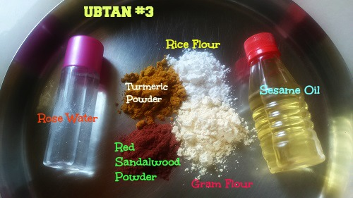 ubtan recipes