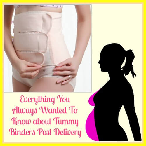 Tummy Binders Post Pregnancy To Lose Belly Fat