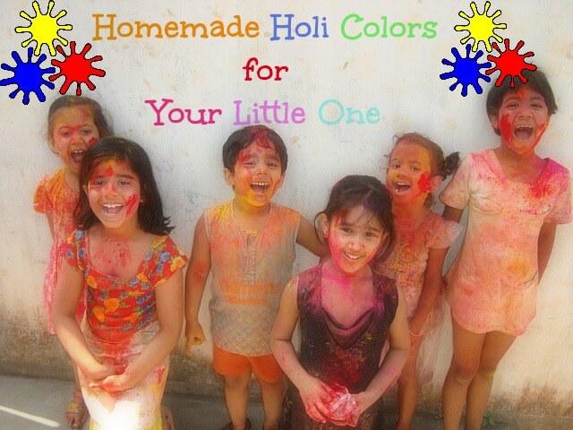 homemade holi colors