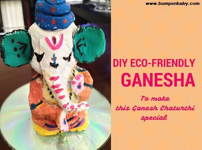 DIY Clay Ganesha