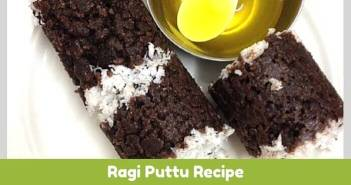 ragi puttu recipe for babies