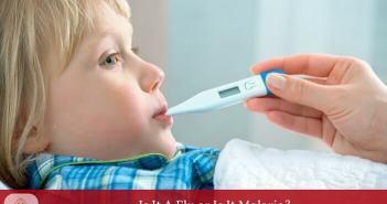 symptoms of malaria in kids