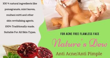 anti acne face pack