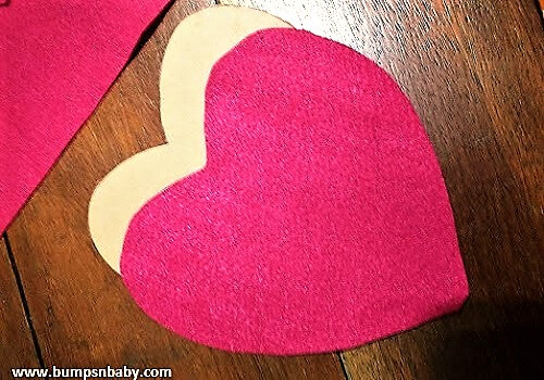 hearts for photoframe