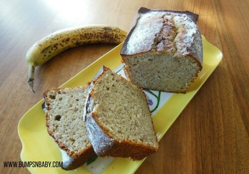 banana baby food recipes banana bread