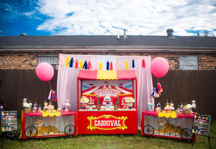 carnival birthday party themes for girls