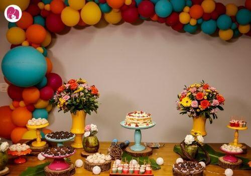 Balloon palooza First Birthday Theme for Boys