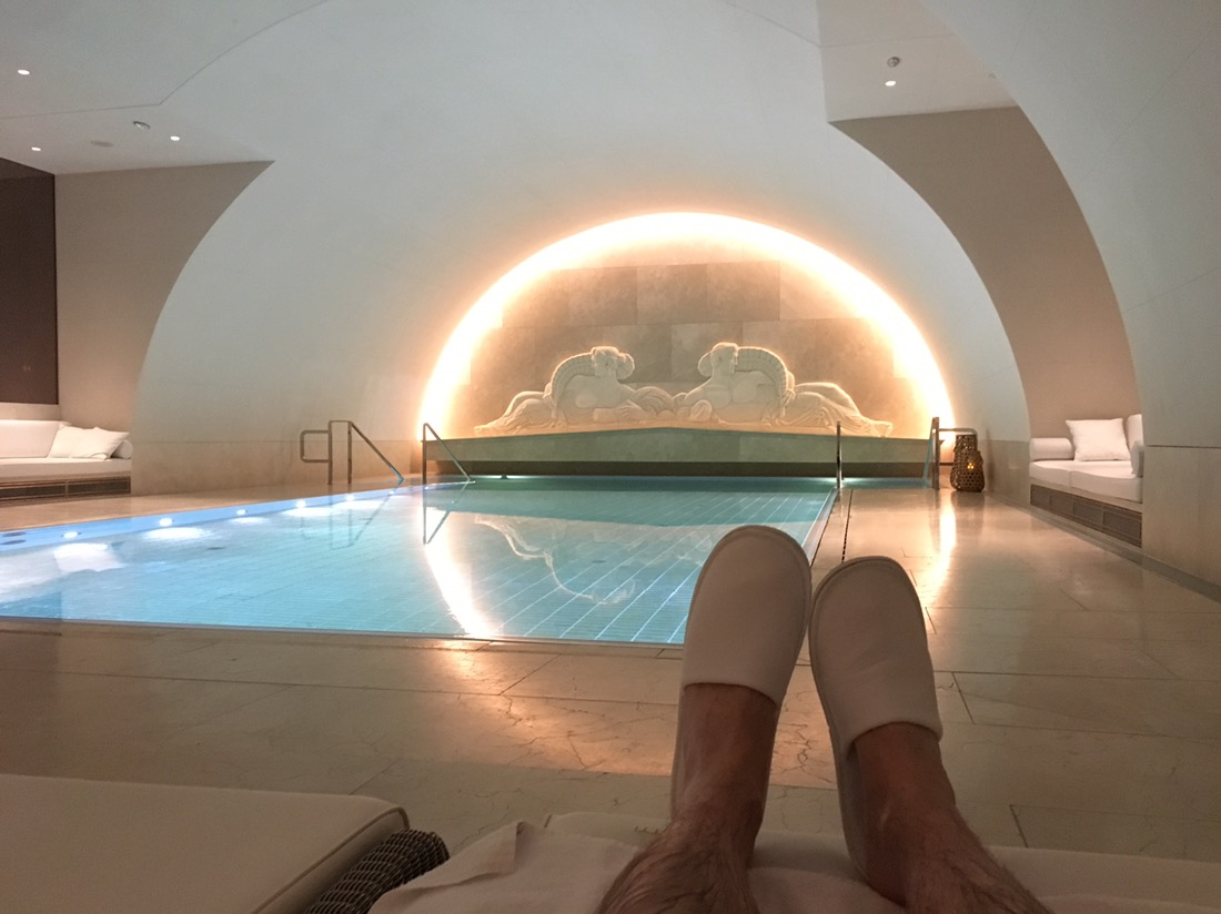 park hyatt vienna arany spa pool