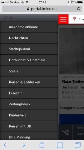 db deutsche bahn maxdome app ice portal