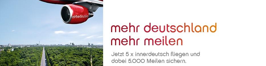 Wir fliegen und sammeln 5.000 Meilen | Air Berlin
