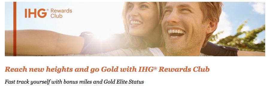 Wir werden Gold Elite und sammeln 500 Meilen | IHG & Virgin