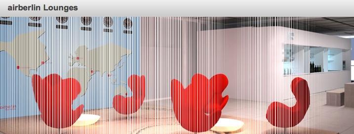 Anpassung: airberlin & Partner Lounges