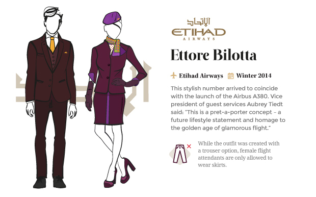 airline uniform etihad airways