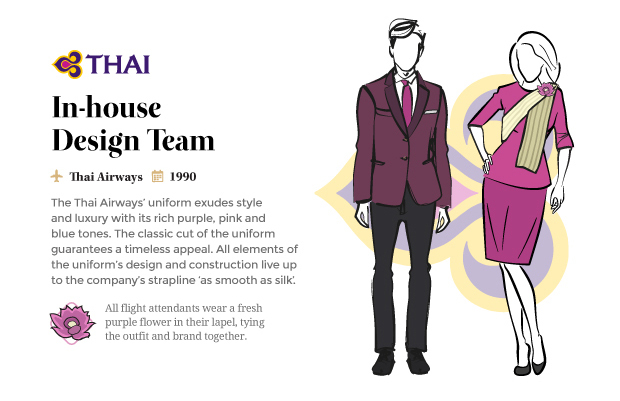 airline uniform thai airways