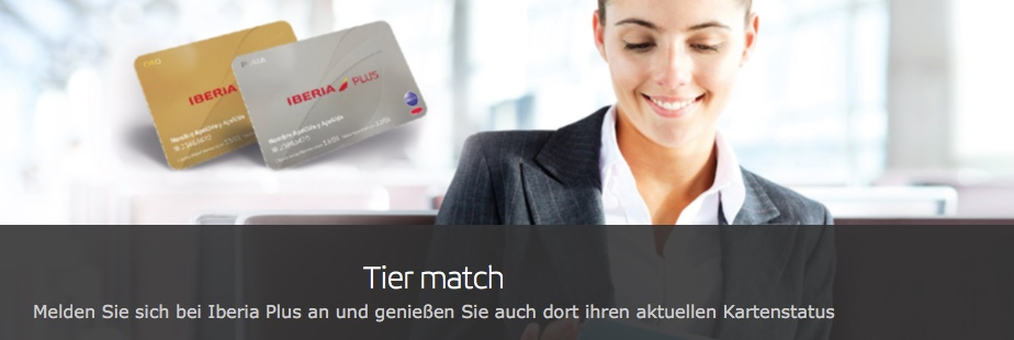 Status Match von topbonus und Miles & More zu Iberia Plus oneworld star alliance