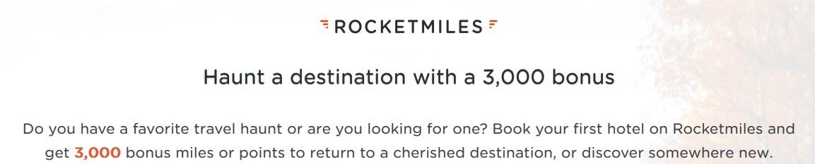 Rocketmiles: 3000 Bonus-Meilen für Neukunden