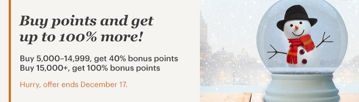 IHG Rewards Club Punkte mit bis zu 100 % Bonus kaufen